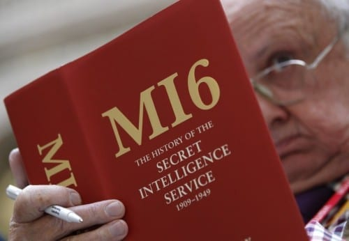 Best Intelligence Agencies 2014 - MI-6, United Kingdom