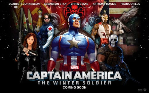 Most Awaited Hollywood Movies 2014 - Captain America - The winter soldier