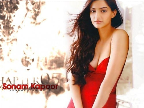 Most Beautiful Bollywood Actresses 2014 - Sonam kapoor