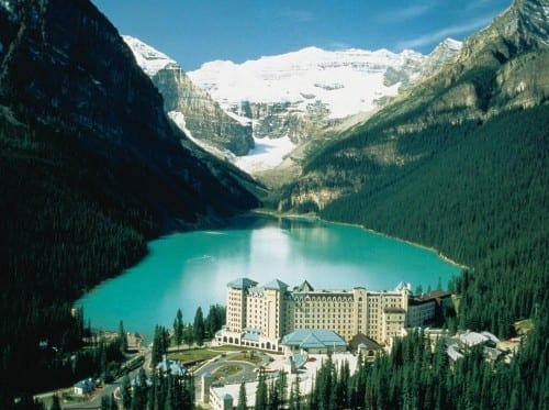 Most Beautiful Places In Canada - Lake Louise, Alberta