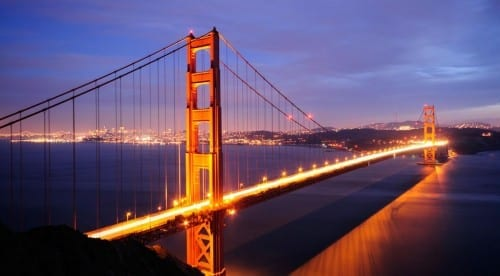 Most Beautiful Places To Visit In America - Golden gate bridges