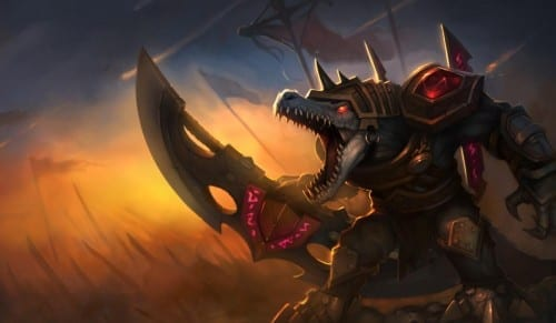 Top 10 Champions In League Of Legends - Renekton