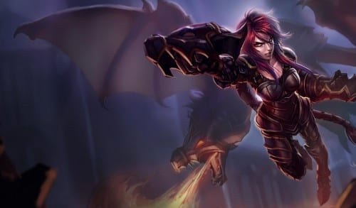 Top 10 Champions In League Of Legends - Shyvana
