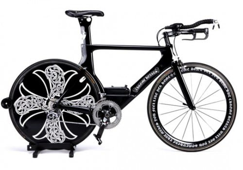 Top 10 Most Expensive Bicycles - Chrome Hearts x Cervelo -$60,000