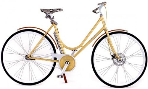 Top 10 Most Expensive Bicycles - Montante Luxury Gold Collection -$46,000
