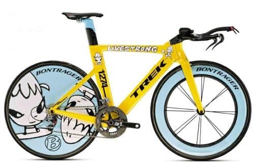 Top 10 Most Expensive Bicycles - Trek Yoshitomo Nara- $200,000