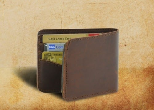 Best Valentines Day Gifts Ideas For Men 2018 - Leather Bi-Fold Wallet