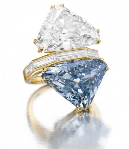 Bulgari Blue Diamond Ring- $15.7 million