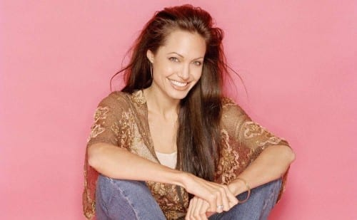 Celebrities With Most Beautiful Smiles -  Angelina Jolie
