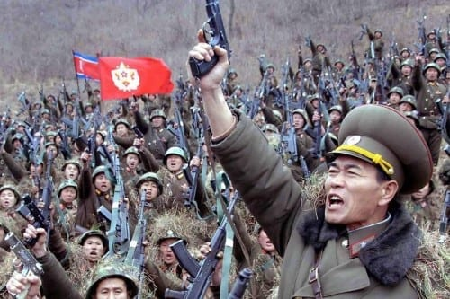 Countries With Largest Armies In 2014 - North Korea