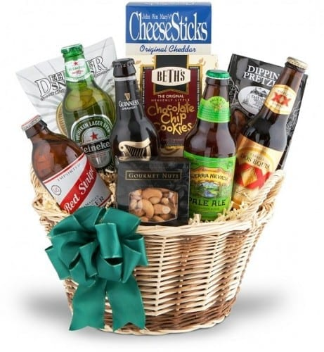 Craft Beer And Snack Basket