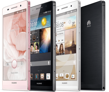 Huawei Ascend P6 - best dual sim smart phones 2018