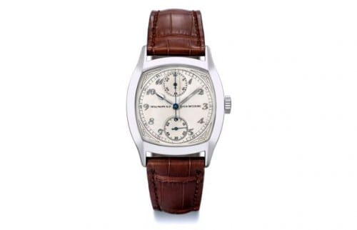 MOST EXPENSIVE WATCHES - Patek Philippe 1928 Single Button Chronograph Watch - $3.6million