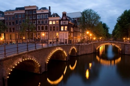Top 10 Most Attractive Cities  - Amsterdam