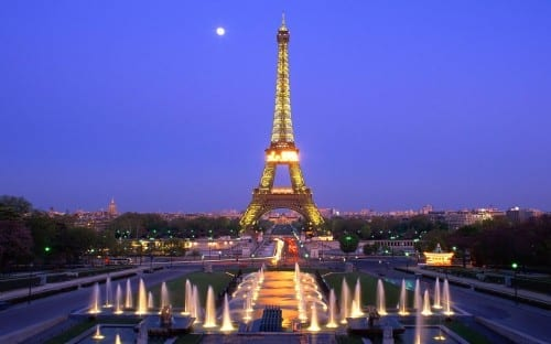 Top 10 Most Attractive Cities  -  Paris