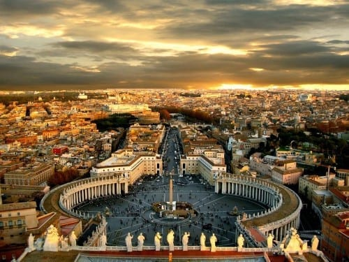 Top 10 Most Attractive Cities  -  Rome