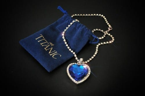 Top 10 Most Expensive Jewelry - Heart of the Ocean Diamond- $20 million