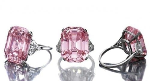 Top 10 Most Expensive Jewelry - The Graff Pink- $46.2 million