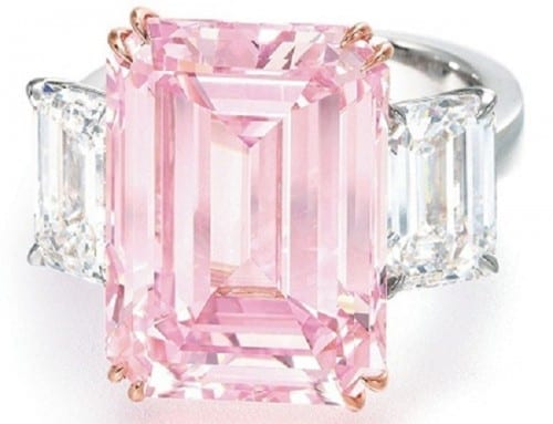 Top 10 Most Expensive Jewelry - The Perfect Pink- $23.2 million