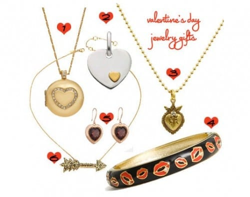Valentine's Day Gifts For Your Girlfriend -  Jewelry Valentines Gift