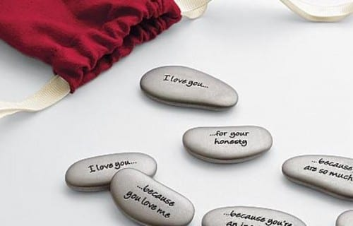 Valentine's Day Gifts For Your Girlfriend -  Why I love You Stones