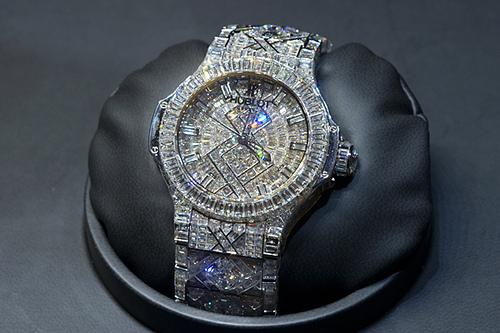 World's Most Expensive Watches - Hublot Diamond watch - $5 million