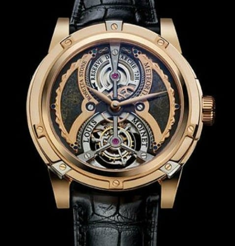 World's Most Expensive Watches - Louis Moinet Meteoris Watch - $ 4.6million