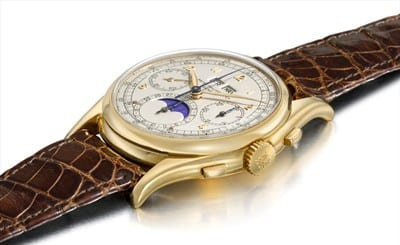 World's Most Expensive Watches - Patek Philippe Ref. 1527 - $ 5.6 million
