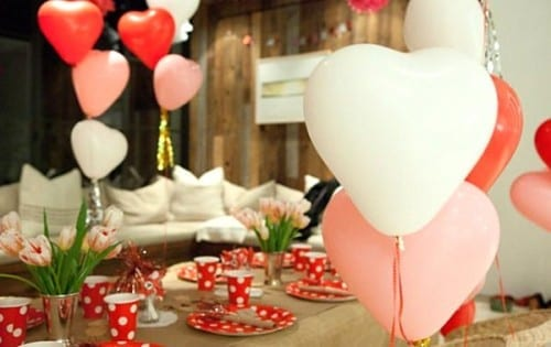 Attractive Valentine's Day Party Themes - Balloons Decor
