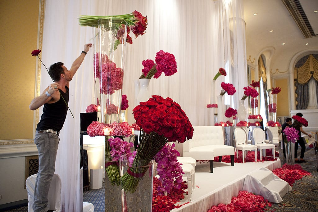 Attractive Valentineu0027s Day Party Themes   Flower Decor