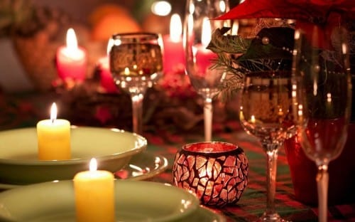 Attractive Valentine's Day Party Themes -  Full of Candles