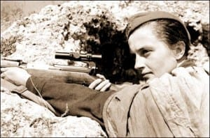 Top 10 Best Snipers In The World - Lyudmila Pavlichenko