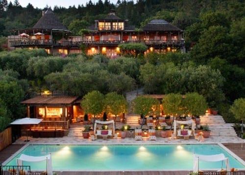 Most Beautiful Hotels In America - Auberge du Soleil, Napa Valley