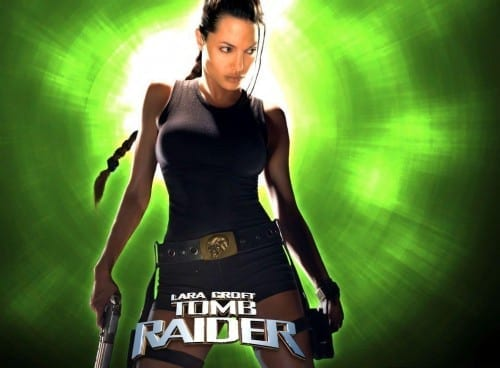 Most Famous Angelina Jolie movies - Lara Croft Tomb Raider