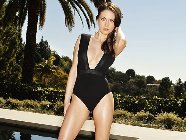 Alison Brie the 2nd most desirable woman 2014