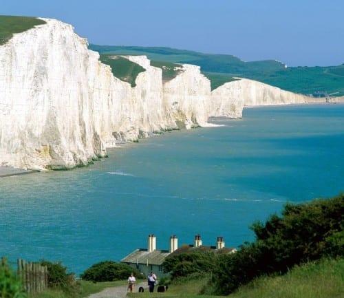 Top 10 Wonders Of United Kingdom - The Seven Sisters