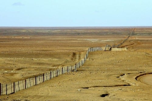 Dingo Fence - wonders of Australia