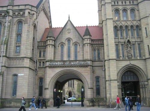 Top 10 Best Universities In UK - University of Manchester
