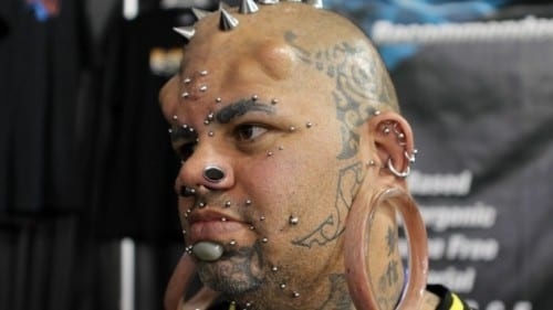 Top 10 Incredible Modified People - The Hawaiian Mutant