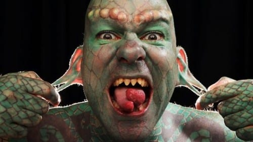 Top 10 Incredible Modified People - The Lizardman