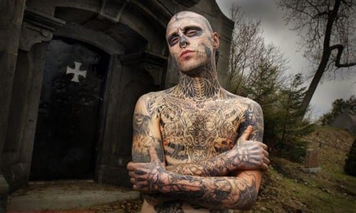 Top 10 Incredible Modified People - The Zombie Boy