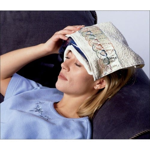 Natural Ways To Cure Headache  - Cold Compress