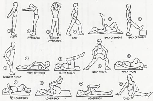 Natural Ways To Cure Headache  -  Stretches