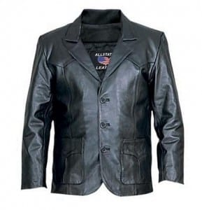 A Leather Jacket - retirement gifts for father
