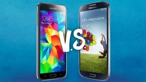 Differences Between Samsung Galaxy S4 And Galaxy S5
