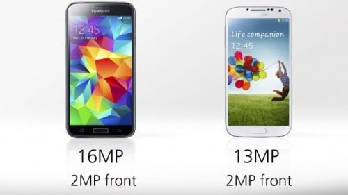 Differences Between Samsung Galaxy S4 And Galaxy S5 -Camera