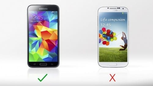 Differences Between Samsung Galaxy S4 And Galaxy S5 - Fingerprint Scanner