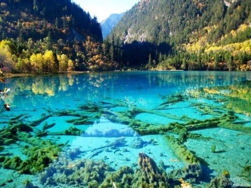 Five Flower Lake, China - most beautiful lakes