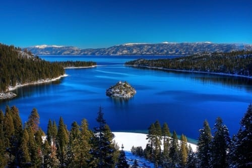 Lake Tahoe, United States - most beautiful lakes