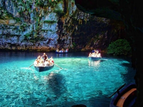 Melissani Lake, Greece - most beautiful lake